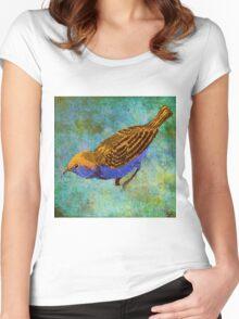 LITTLE BIRD Women's Fitted Scoop T-Shirt