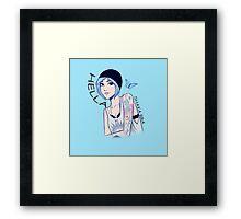 Hella Chloe Price  Framed Print