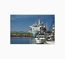 RFA Argus at Falmouth Docks Unisex T-Shirt
