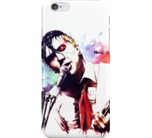 Frank iero - thank you for... iPhone Case/Skin