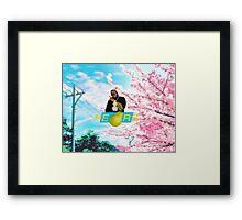 RICK ROSS PEARS Framed Print