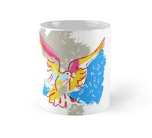 Colorful dove Mug