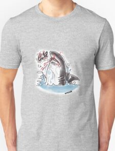 great white bite himself Unisex T-Shirt