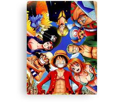 One Piece: StrawHat Pirates Canvas Print