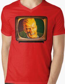 Max Headroom Mens V-Neck T-Shirt
