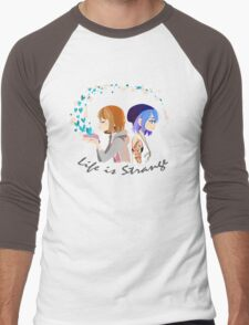 Life is strange 4- Max and Chloe Men's Baseball ¾ T-Shirt