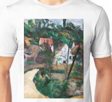 1881 - Paul Cezanne - Turn in the Road Unisex T-Shirt