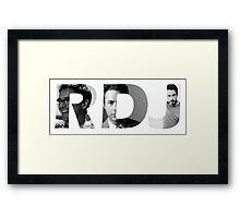 Robert Downey Jr - RDJ Framed Print
