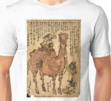 Kuniyasu Utagawa - Camel - 1824 - Woodcut Unisex T-Shirt