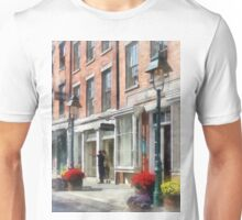 Cities - Giving Directions South Street Seaport Unisex T-Shirt