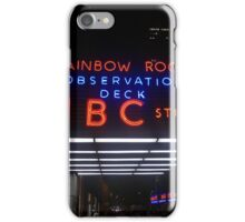 Rockefeller and Radio City in the Light of Night iPhone Case/Skin