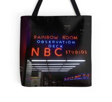 Rockefeller and Radio City in the Light of Night Tote Bag
