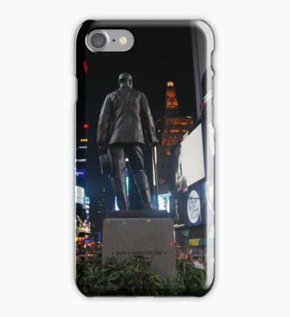 Tonight's the Night in Times Square iPhone Case/Skin