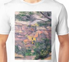 1882 - Paul Cezanne - Morning View of L'Estaque Against the Sunlight Unisex T-Shirt