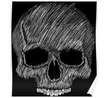 Skull sketch Poster