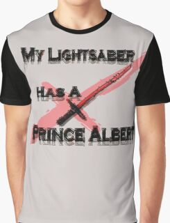 My Lightsaber has a Prince Albert Graphic T-Shirt