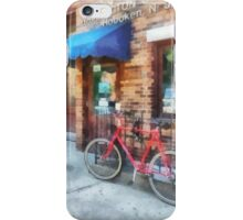Bicycle by Post Office iPhone Case/Skin