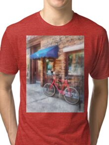 Bicycle by Post Office Tri-blend T-Shirt