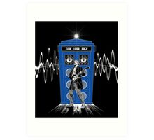 Time Lord Rock Art Print