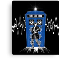Time Lord Rock Canvas Print