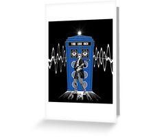 Time Lord Rock Greeting Card