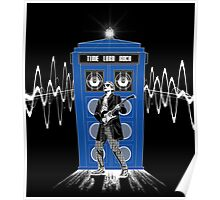 Time Lord Rock Poster