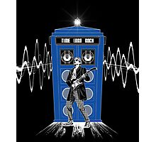 Time Lord Rock Photographic Print