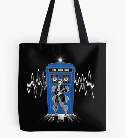 Time Lord Rock Tote Bag