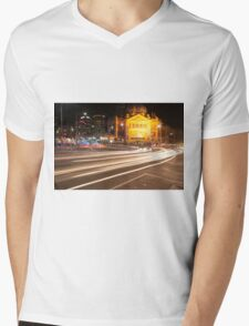 Speed of Light Mens V-Neck T-Shirt