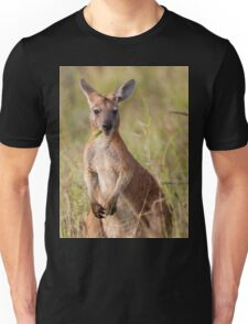 Chewin' the Grass- Kangaroo Unisex T-Shirt