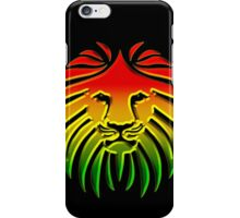 Like a Lion, Reggae, Rastafari, Africa, Jah, Jamaica,  iPhone Case/Skin