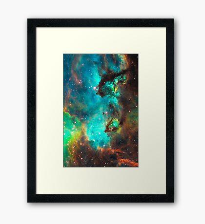 Galaxy / Seahorse / Large Magellanic Cloud / Tarantula Nebula Framed Print