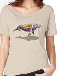 Tagged Whale Women's Relaxed Fit T-Shirt