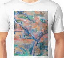 1884 - Paul Cezanne - Traer og hus, Provence Unisex T-Shirt