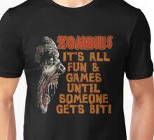Zombie Fun n' Games Unisex T-Shirt
