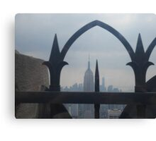 An Arch over New York City  Canvas Print