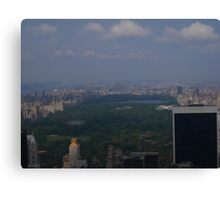 Summer Days on the Top of the Rock Canvas Print