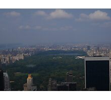 Summer Days on the Top of the Rock Photographic Print