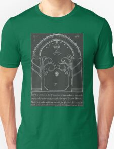 Lord Of The Rings - The Doors Of Durin ( Hand drawn) T-Shirt