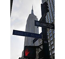 In a New York Minute. . . Photographic Print