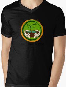 Our Food Forest Mens V-Neck T-Shirt