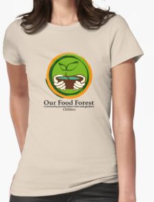 Our Food Forest Womens Fitted T-Shirt