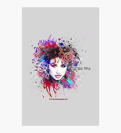 Y Kant Tori Read Design from ToriAmosDiscography.info Photographic Print