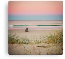 Twilight beach dreams Canvas Print