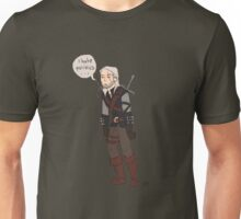 Geralt Hates Politics Unisex T-Shirt