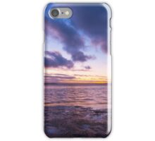 Sunset over Shallow Inlet iPhone Case/Skin