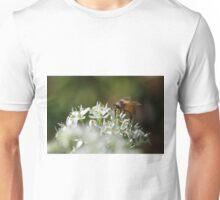 Honey bee on chive flower Unisex T-Shirt