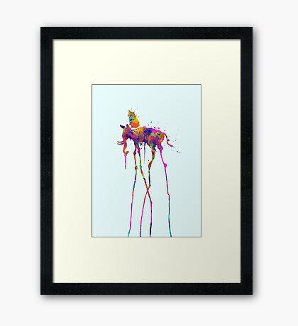 Dali Elephant Framed Print