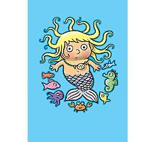 Mermaid Baby Photographic Print