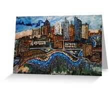 Austin Cityscape Greeting Card